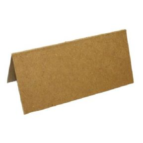 100 Recycled Kraft Blank Table Name Place Cards, Ideal For Parties Or Wedding's